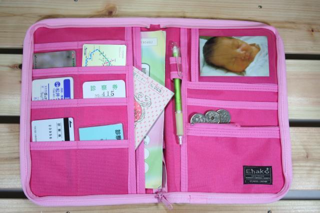 母子手帳ケース EHAKO 母子手帳ケース Lサイズ Ehako(エハコ) 母子手帳ケース ミニフラワー L