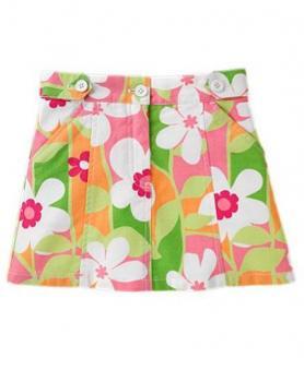花柄スカート3 メール便可/定形外可