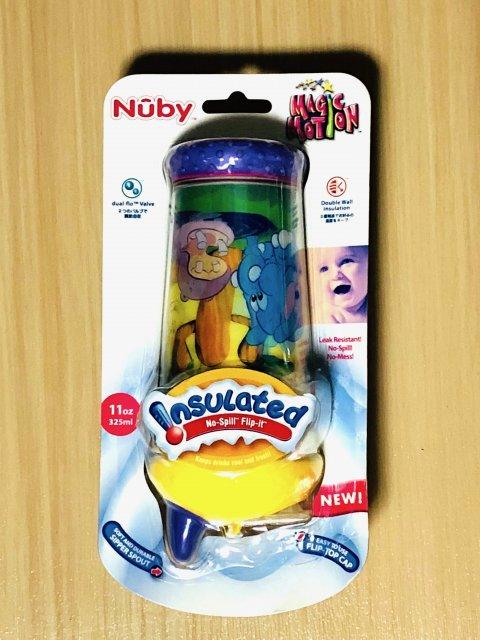 フィーディングボトル ヌービー(NUBY) NUBY マジックモーションカップ・スパウト330ml Zoo