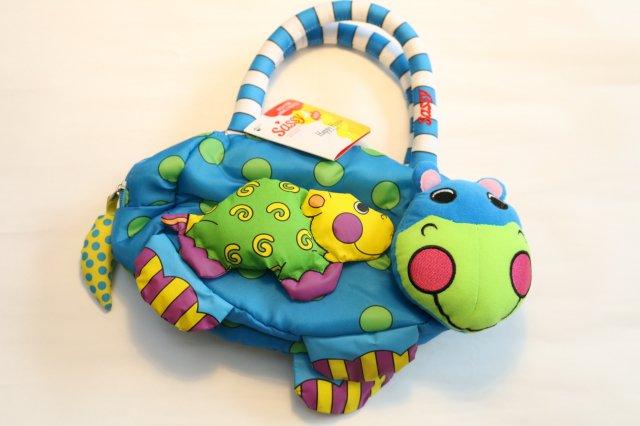 TOY −知育玩具− サッシー (sassy) サッシー(Sassy) Sassy ハッピー・ヒッポー・バッグ