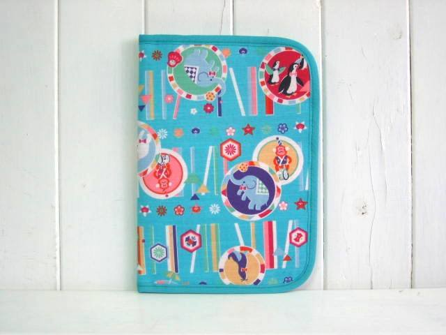 母子手帳ケース EHAKO 母子手帳ケース Lサイズ Ehako(エハコ) 母子手帳ケース サーカスブルー L