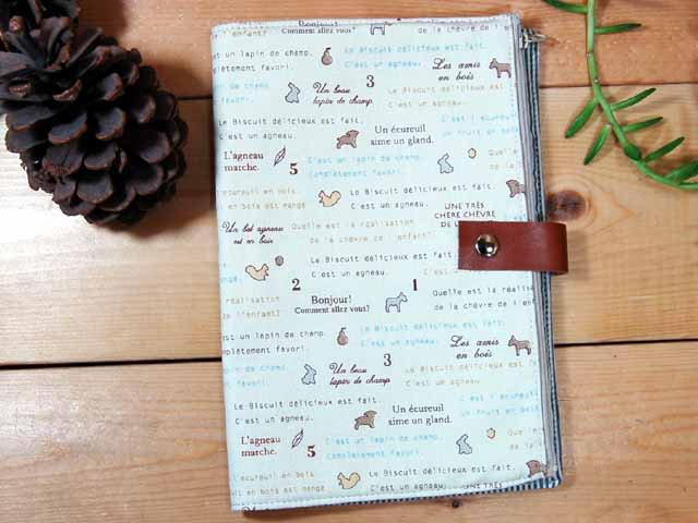 母子手帳ケース CHANGES 母子手帳ケース Lサイズ CHANGES(チェンジス) 母子手帳ケース アニマル ホワイト L