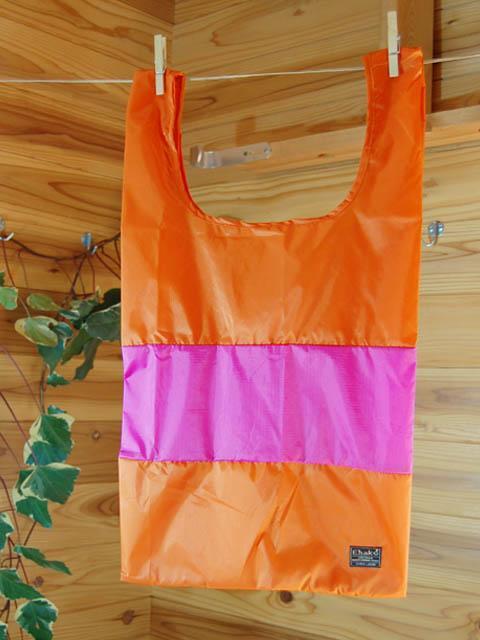 ショッピングバッグ Ehako* Ehako(エハコ) ショッピングバッグ Mサイズ オレンジ/ピンク