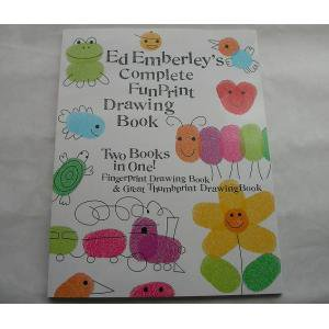 BOOK  Ed Emberley's Complete Funprint Drawing Book