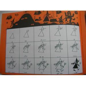 BOOK  Ed Emberley's Halloween Drawing Book