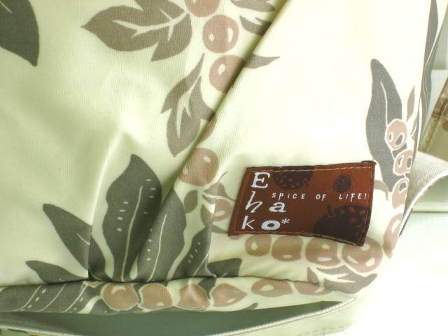 マザーズバッグ EHAKO Ehako(エハコ) マザーズトートバッグ ナチュラルハワイアン(ビニールコーティング)