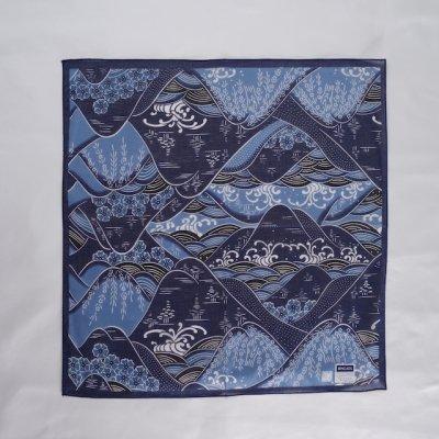 藍型 連山山柄