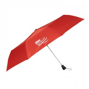 Traditional Weatherwear 折りたたみ傘 AUTO FOLDING UMBRELLA レッド