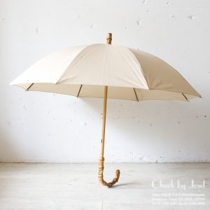 Traditional Weatherwear 晴雨兼用長傘 UMBRELLA BAMBOO GOLD ニューパティ