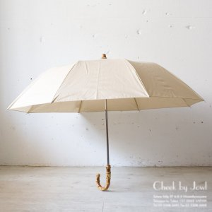 Traditional Weatherwear 晴雨兼用折りたたみ傘 FOLDING UMBRELLA BAMBOO GOLD ニューパティ
