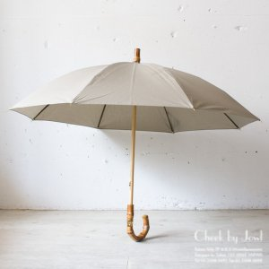 Traditional Weatherwear 晴雨兼用長傘 UMBRELLA BAMBOO GOLD ライトセージ