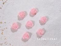 ミニローズカボション(ピンク)