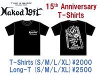 ネイキッドロフト 15周年記念 ロングTシャツ