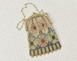 1920's アールデコのメッシュバッグ