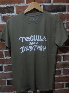 <img class='new_mark_img1' src='//img.shop-pro.jp/img/new/icons1.gif' style='border:none;display:inline;margin:0px;padding:0px;width:auto;' />SHOP SAM'S SOL TEQUILA & DESTROY TEE
