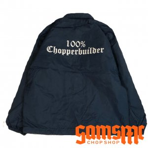 100% CHOPPER BUILDER COACH JACKETネイビー