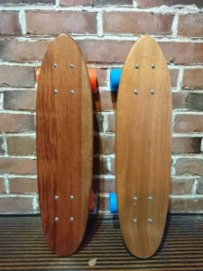 Mahogany Blank Deck&Complete