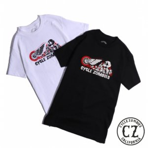 CycleZombies RIDE ON S/S T-SHIRT