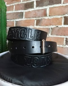 CycleZombies GOTH LEATHER BELT