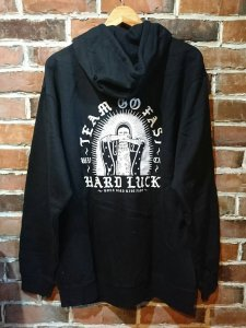 <img class='new_mark_img1' src='//img.shop-pro.jp/img/new/icons1.gif' style='border:none;display:inline;margin:0px;padding:0px;width:auto;' />Hard Luck  MARI ZIP-UP HOODIE