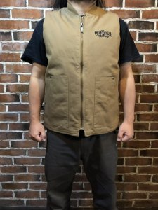 <img class='new_mark_img1' src='//img.shop-pro.jp/img/new/icons1.gif' style='border:none;display:inline;margin:0px;padding:0px;width:auto;' />OG CLASSIX Work DACK  VEST  BLKorBEG
