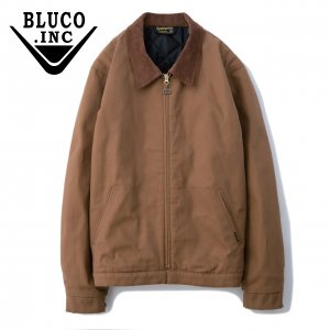 Bluco(ブルコ)OL-012C-019 COTTON WORK JACKETブラウン