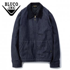 Bluco(ブルコ)OL-012C-019 COTTON WORK JACKETデニム