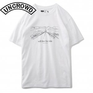 UNCROWD UC-801  PRINT TEE'S -the way-
