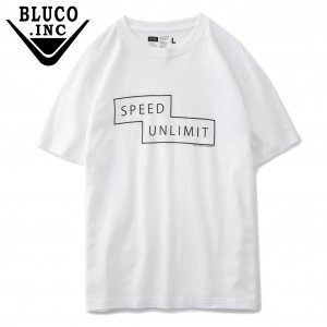 UNCROWD UC-802-020 PRINT TEE'S -speed unlimit-