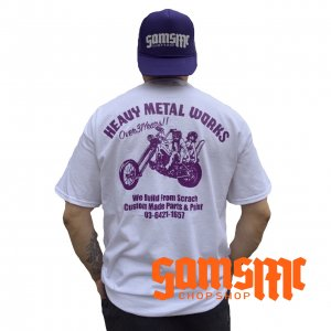 HEAVY METAL WORKS REPRINT TEE