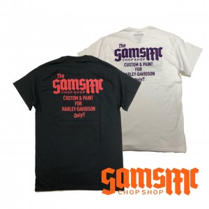 SAMSMC H-D ONLY POCKET TEE
