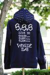 "<img class='new_mark_img1' src='https://img.shop-pro.jp/img/new/icons1.gif' style='border:none;display:inline;margin:0px;padding:0px;width:auto;' />VENICE CLASS SICKS ZIP Hoodie  ""S×S×S"" ジップフード"