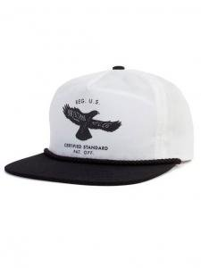 <img class='new_mark_img1' src='https://img.shop-pro.jp/img/new/icons1.gif' style='border:none;display:inline;margin:0px;padding:0px;width:auto;' /> Brixton ブリクストン HUCK SNAPBACK BK×WH