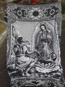 MEXICAN  GUADELUPE BLANKET