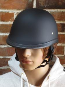 NOVELTY HELMET HAWK DULL BLACK 艶消しブラック