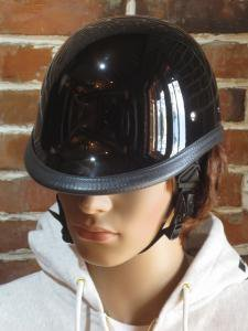 NOVELTY HELMET HAWK  BLACK