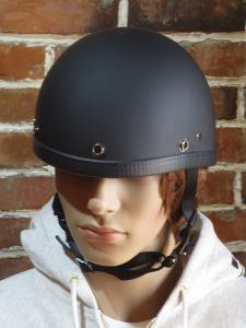NOVELTY HELMET  SMOKEY DULL BLACK 艶消しブラック