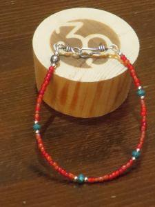 <img class='new_mark_img1' src='https://img.shop-pro.jp/img/new/icons1.gif' style='border:none;display:inline;margin:0px;padding:0px;width:auto;' />Sunku39 Small Beads Bracelet SK-115 ブレスレット