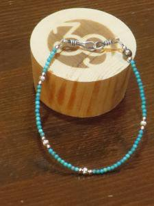 <img class='new_mark_img1' src='https://img.shop-pro.jp/img/new/icons1.gif' style='border:none;display:inline;margin:0px;padding:0px;width:auto;' />Sunku39 Small Beads Bracelet SK-117 ブレスレット