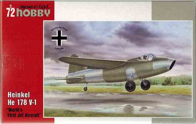1/72 独・ハインケルHe178V-1世...