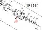頭付ピン1.2-3.5 TP131D,TP141D用