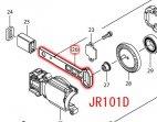 JR101D用 スライダN+コンプレッションスプリング7