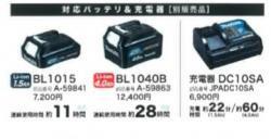 10.8V充電式LEDワークライト ML103