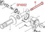 DP4002用 ボルトM8×130