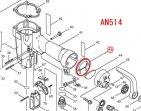 インレットキャップガスケット AN504,AN514等対応