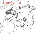 EUB4250/SP,EUB4760用プラグカバー