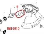UM1691D,4390D用直流モーター