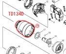TD134D/DX2,TD146D/DX2用 ハンマーケースコンプリート