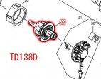 アーマチュア14.4V TD138D用