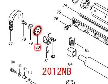 スプロケット10 2012NB,2012NBSP用